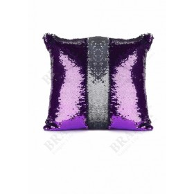 Подушка декоративная «РУСАЛКА» цвет фиолетовый/серебро Magic Pillow