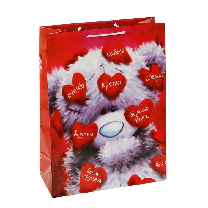"""Пакет подарочный """"Люблю"""""""