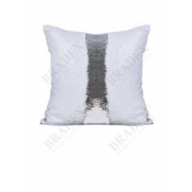 Подушка декоративная «РУСАЛКА» цвет белый матовый/серебро Magic Pillow
