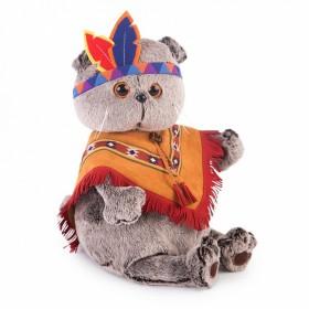 Басик в костюме индейца