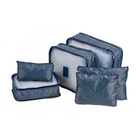Органайзеры для хранения комплект из 6шт, синие