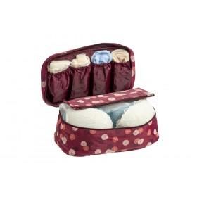 Органайзер для белья, бордовый