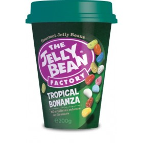 Драже жевательное «The Jelly Bean factory» (тропик) 200г (стакан)