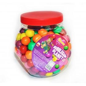 """Жевательная резинка """"BUBBLEGUM PLANET"""" 8г (Цветные шары 150 штук)"""