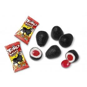 Жевательная резинка (с начинкой) EL TORO BALLS (бычьи шары) упаковка 200 штук