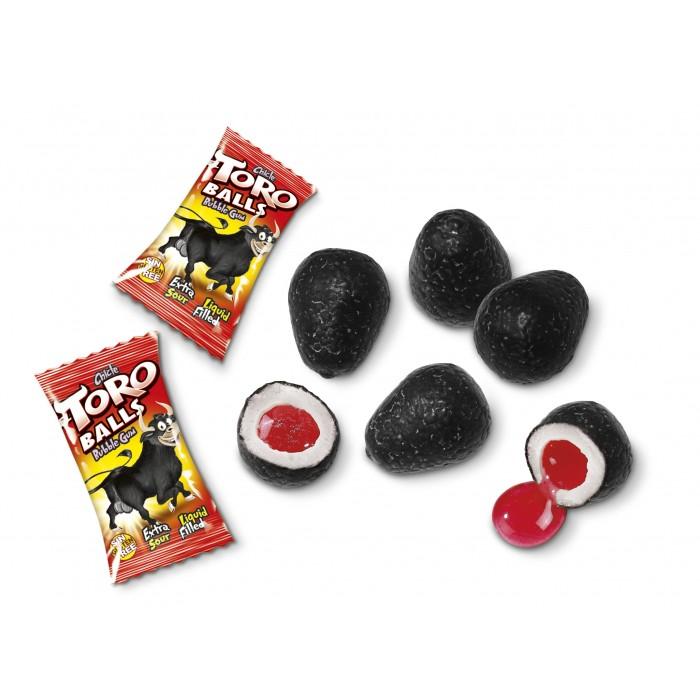 Жевательная резинка (с начинкой) EL TORO BALLS 5г (бычьи шары)