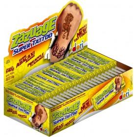 "Жевательная конфета на палочке со вкусом ананаса ""Zazuage"" PINEAPPLE  11,2г"