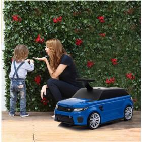 Чемодан-каталка Chi Lok Bo Range Rover синий