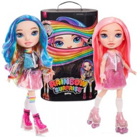 Кукла Poopsie Rainbow Surprise 20 сюрпризов (розовая/радужная)