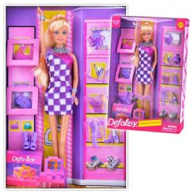 """Кукла Defa Lucy """"Модница"""", с обувью и аксессуарами в ассортименте"""