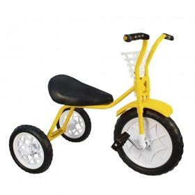 """Велосипед детский трехколесный """"Зубренок"""" желтый"""