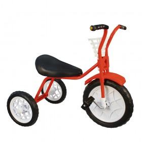 """Велосипед детский трехколесный """"Зубренок"""" красный"""