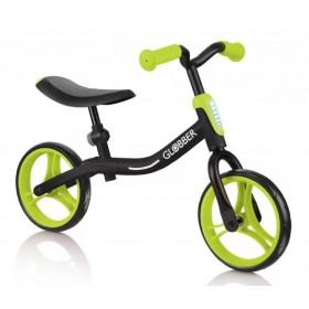 Беговел Globber Go Bike черно-салатовый