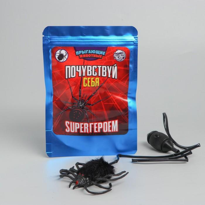 Прыгающие животные «Почувствуй себя супергероем» паук