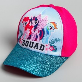 """Кепка детская """"Squad"""", My Little Pony, р-р 52"""