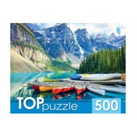 TOPpuzzle. ПАЗЛЫ 500 элементов. ГИТП500-4210 АЛЬПИЙСКОЕ ОЗЕРО