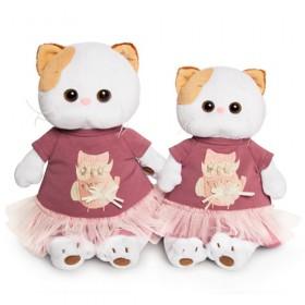 Кошечка Ли Ли в платье с совой