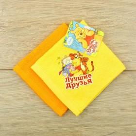 Набор махровых полотенец - 2 шт, Медвежонок Винни и его друзья