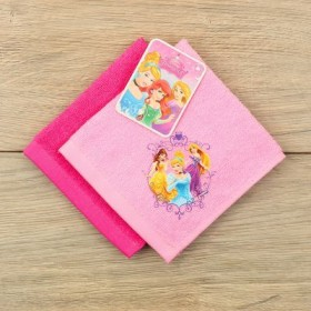Набор махровых полотенец - 2 шт, Принцессы