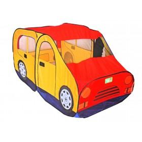 """Игровая палатка """"Авто"""", цвет красно-желтый"""