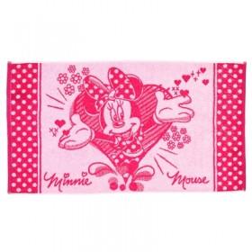 Полотенце махровое Disney «Minnie Love», размер 50х90 см, 460 г/м²