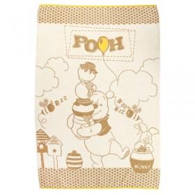 Полотенце махровое Disney Free Day Winnie the Pooh 100х150 см, 100% хлопок, 460 гр/м2