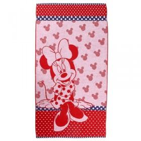 Полотенце махровое Disney Miss Minnie 70х130 см, 100% хлопок, 460 гр/м2