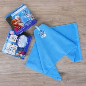 Полотенце махровое, Холодное Сердце, + игра на упаковке