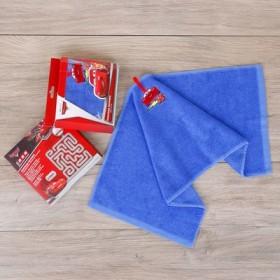 Полотенце махровое, Тачки, + игра на упаковке