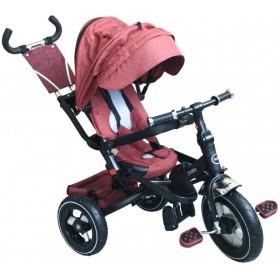Детский трехколесный велосипед Fun Trike LMX-809RA красный