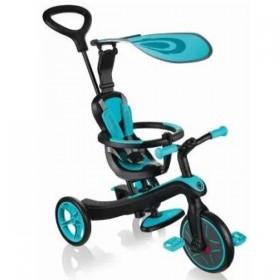Велотрайк Globber Trike Explorer голубой