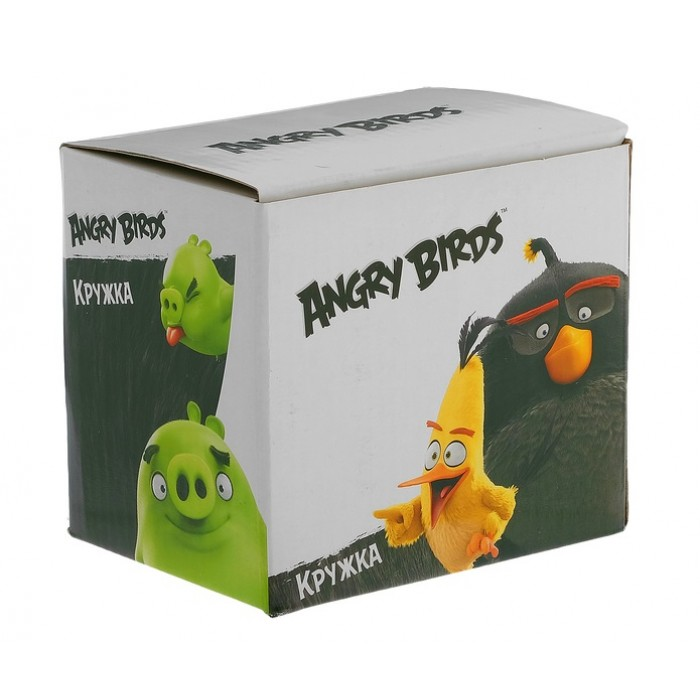 "Кружка 340 мл ""Angry Birds. Рэд"", подарочная упаковка"