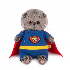 Басик BABY в костюме супермена