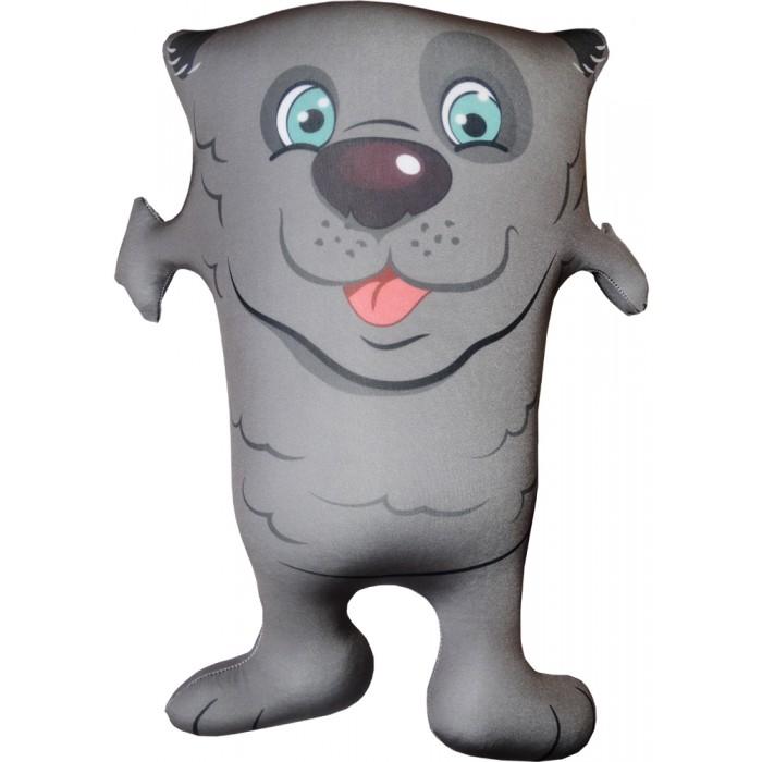 Игрушка Собака Обнимака серый