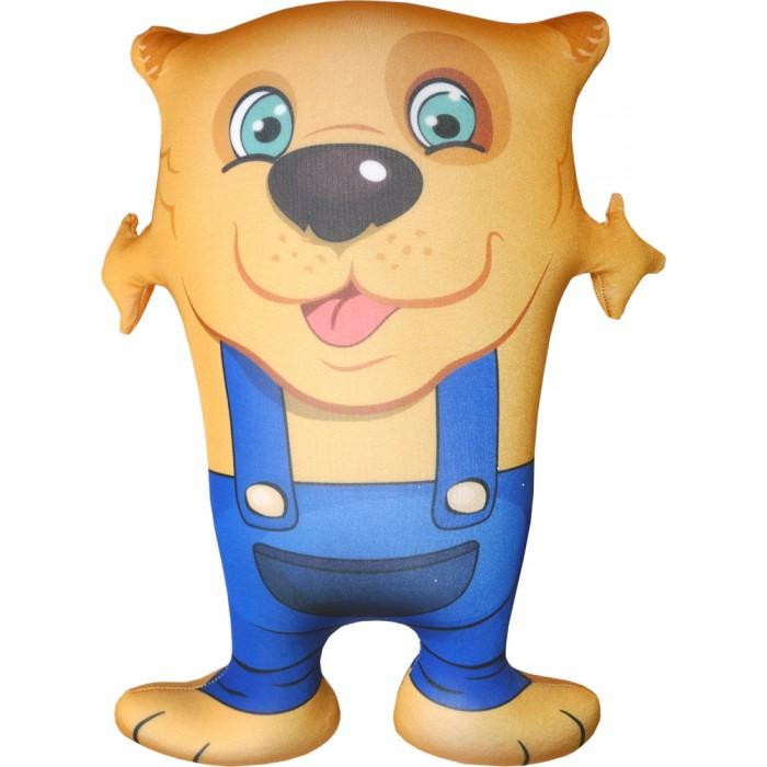 Игрушка-антистресс Собака Обнимака желтый