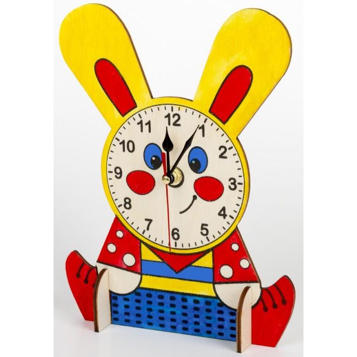 """Деревянные часы своими руками (с красками) """"Зайчонок"""""""