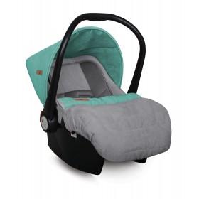 Автомобильное кресло LIFESAVER Grey&Green 0+ (0-13кг)