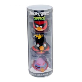 """Резиновая игрушка """"Злые птички"""", набор 3 шт"""