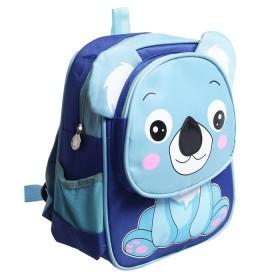 Рюкзак синий Мишка 25*10*30