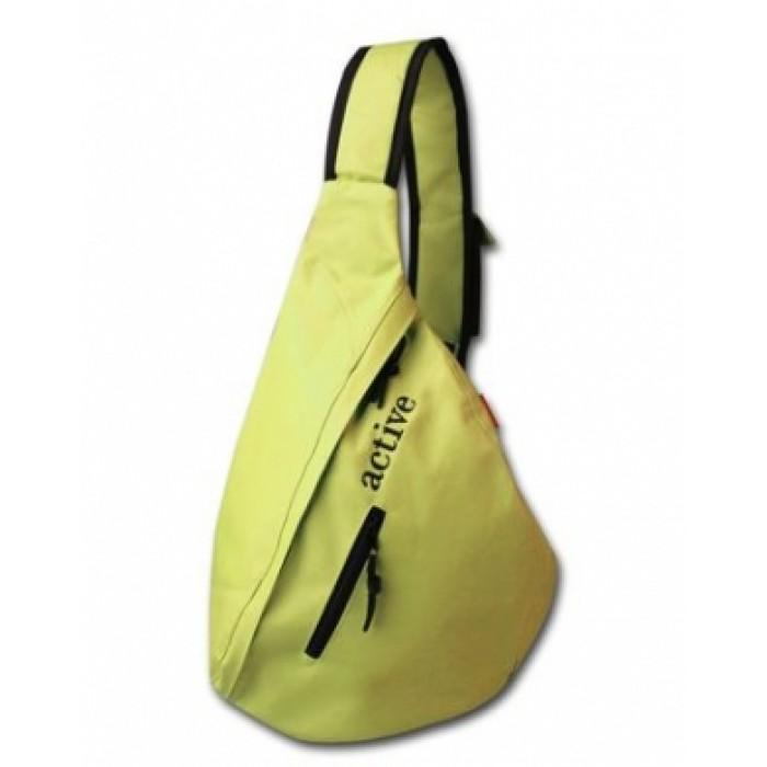Рюкзак-сумка HATBER с одной лямкой, желтый