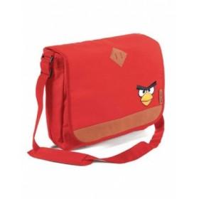 Сумка HATBER, ELITE, ANGRY BIRDS, красная