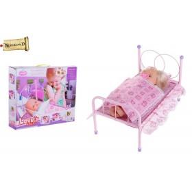 """Кровать для куклы """"Мой любимый малыш"""" с куклой"""