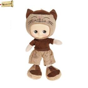 """Мягкая игрушка кукла """"Киска"""" в ботинках"""