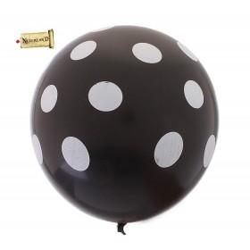 Воздушные шары в горох ( набор 25 шт)
