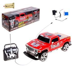"""Машина радиоуправляемая """"Пикап"""", с аккумулятором, световые и звуковые эффекты"""
