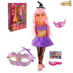 """Кукла шарнирная, """"Ведьмочка с аксессуарами"""