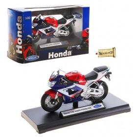 "Модель мотоцикла ""MOTORCYCLE/HONDA"" м 1:18"