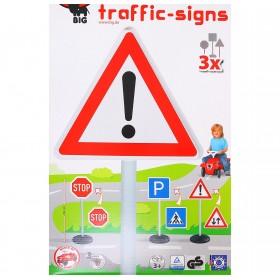 Набор дорожных знаков, 3 штуки