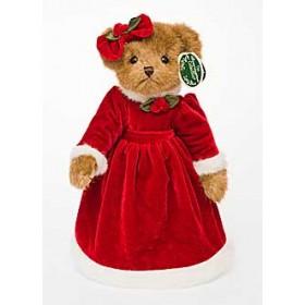 """Мишка """"Bearington"""", в красном платье"""