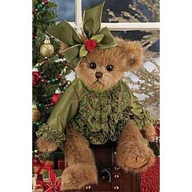 """Мишка """"Bearington"""", зеленое платьице"""